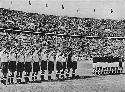 English Nazi Salute