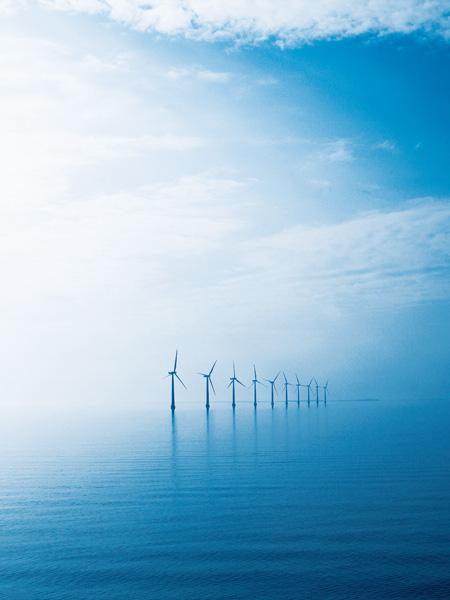 Sea windmills
