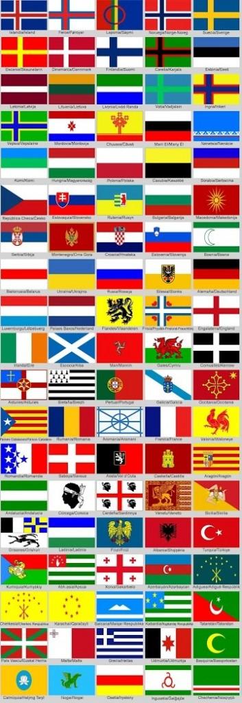 Idioma de Europaflags