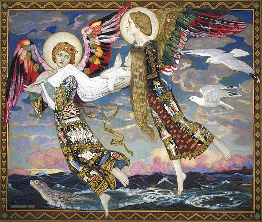 Saint Bride, John Duncan 1913