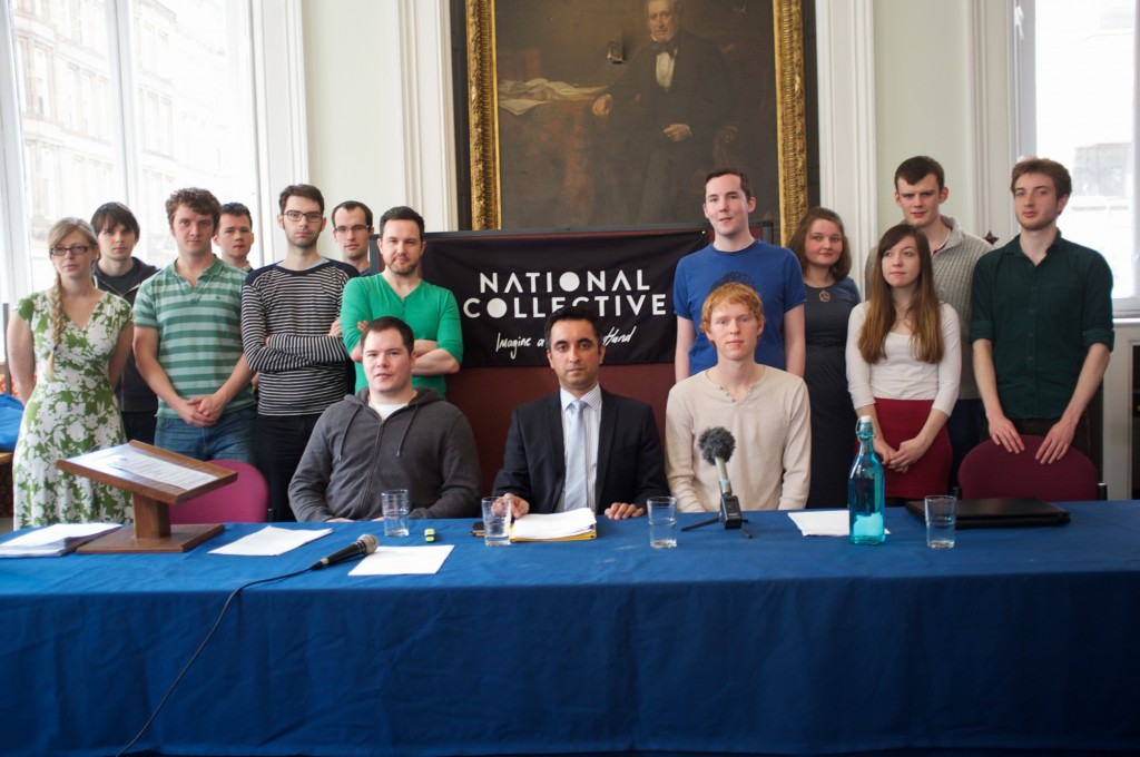 National Collective Press Conference, Royal Faculty of Procurators, Glasgow