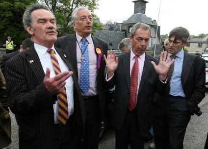 UKIP's Farage returns to Scotland