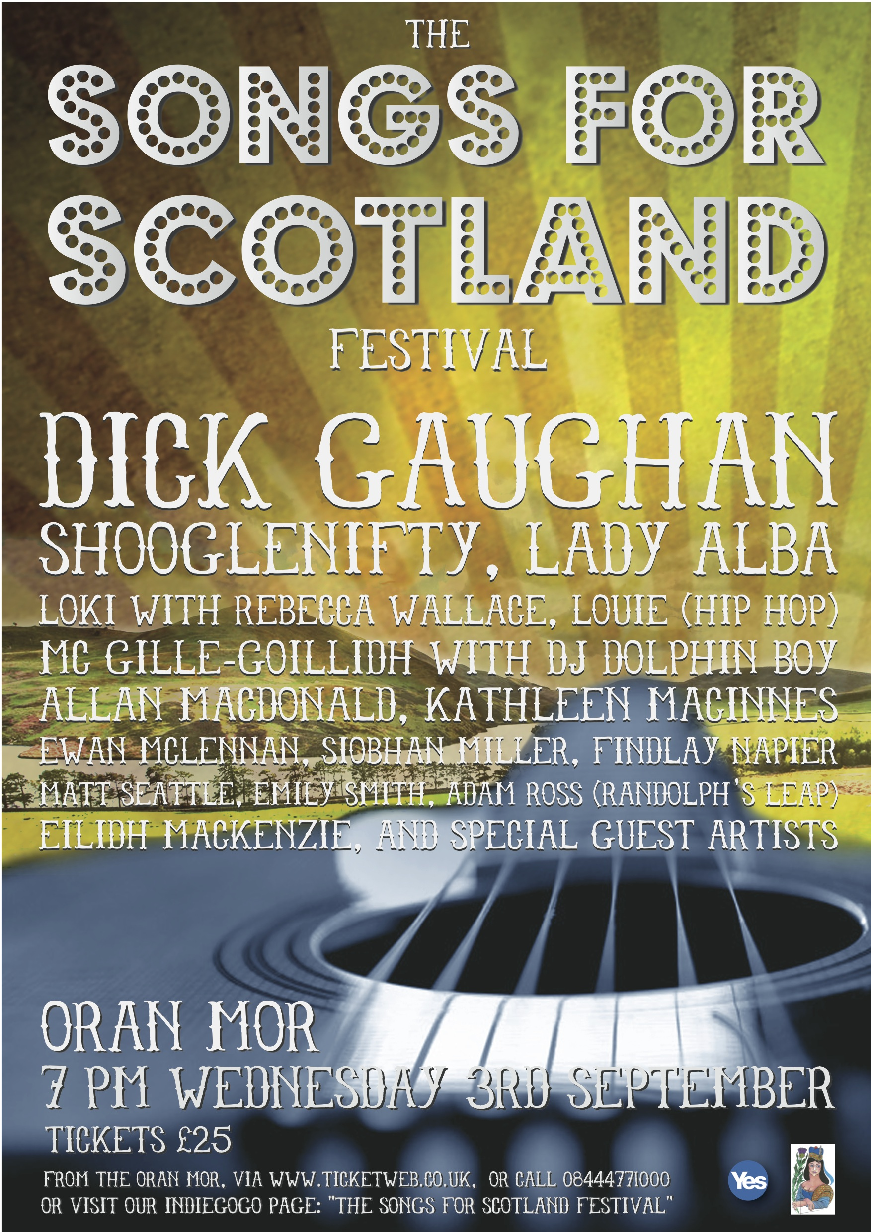songs for scotland poster 3