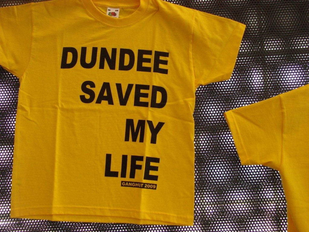 Dundee saved my life