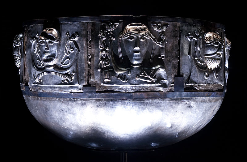 The Gundestrup Cauldron. Copyright: Knud Winckelmann and Nationalmuseet.