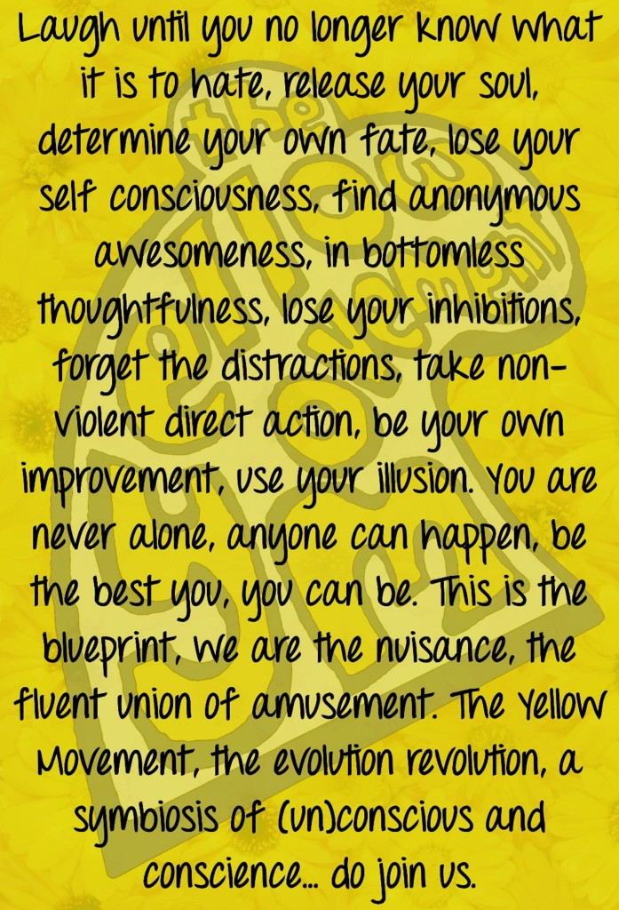 Yellow Movement Manifesto